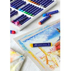 Creioane Ulei Pastel 12 Culori Faber-Castell1