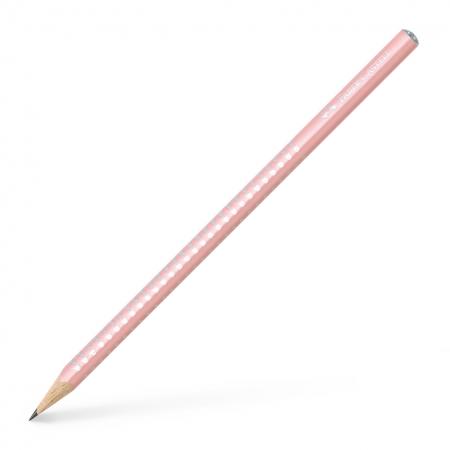 Creion Grafit B Sparkle Rose 2019 Faber-Castell0