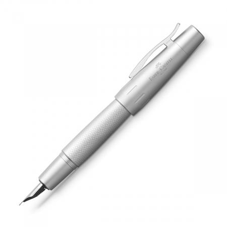 Stilou E-Motion Pure Silver Faber-Castell0