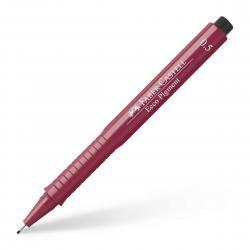 Liner Ecco Pigment Rosu Faber-Castell ( 4 variante de grosime varf )0