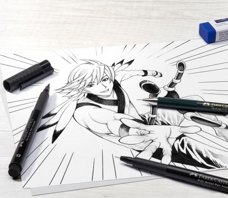 Pitt Artist Pen Manga Starter Faber-Castell3