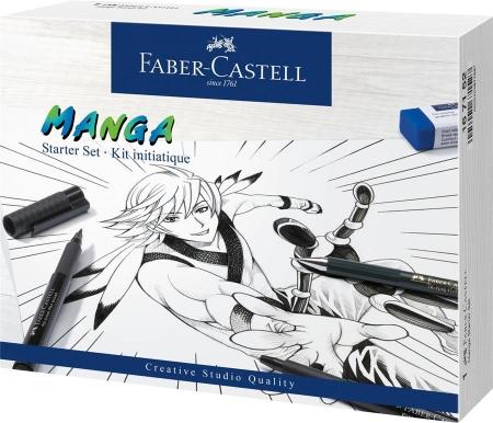 Pitt Artist Pen Manga Starter Faber-Castell0