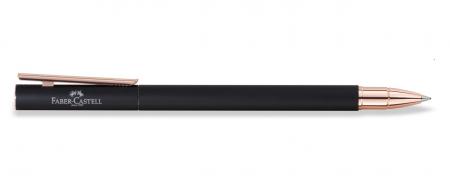 Roller Neo Slim Metal Black Rosegolden Faber-Castell2