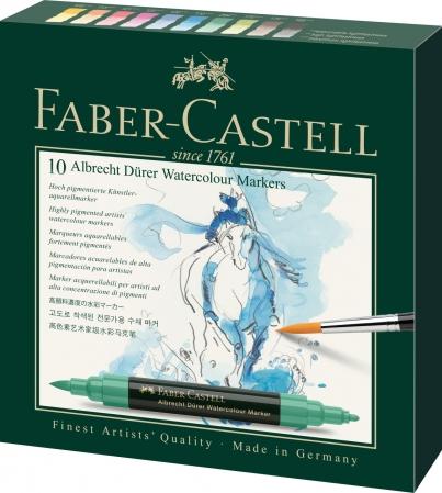 Set 10 Markere Solubile Albrecht Durer Faber-Castell0