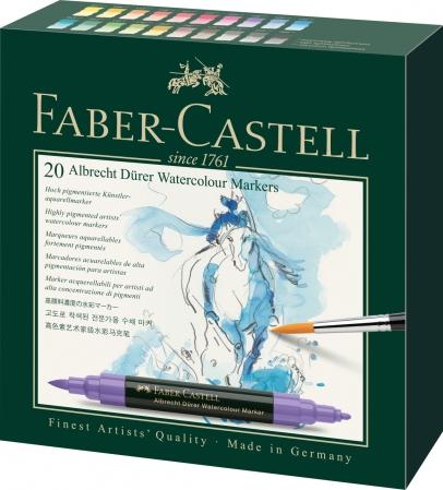 Set 20 Markere Solubile Albrecht Durer Faber-Castell0