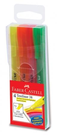 Set 4 Buc Textmarker 38 Faber-Castell1