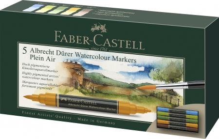 Set 5 Markere Solubile Peisaj A.Durer Faber-Castell0