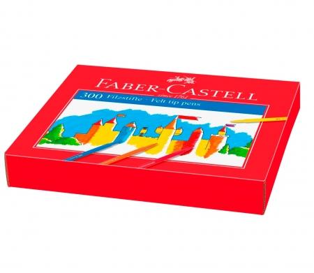 SET PT O CLASA CUTIE CARTON 300 CARIOCI FABER-CASTELL1