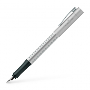 Stilou Grip 2011 Argintiu Faber-Castell0