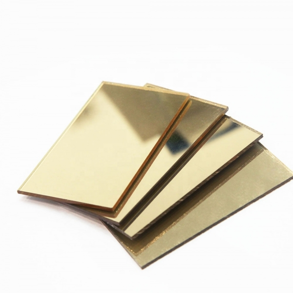 Plexiglas Oglinda Auriu 0