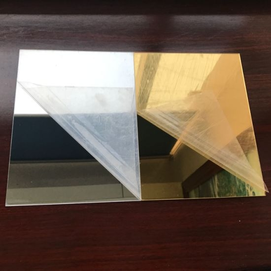 Plexiglas Oglinda Auriu 2