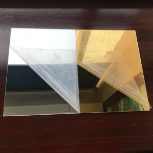 Plexiglas Oglinda Auriu2