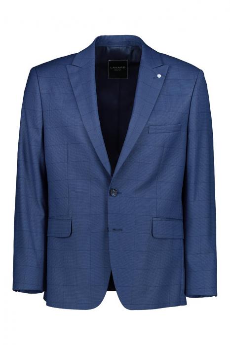 Costum elegant carouri LAVARD albastru [1]