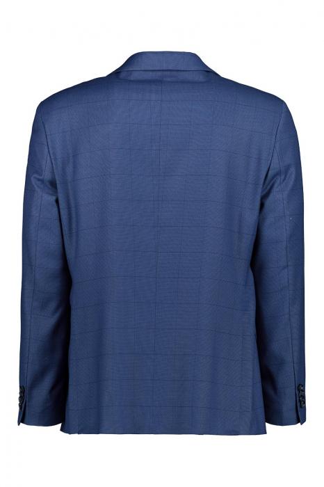 Costum elegant carouri LAVARD albastru [2]