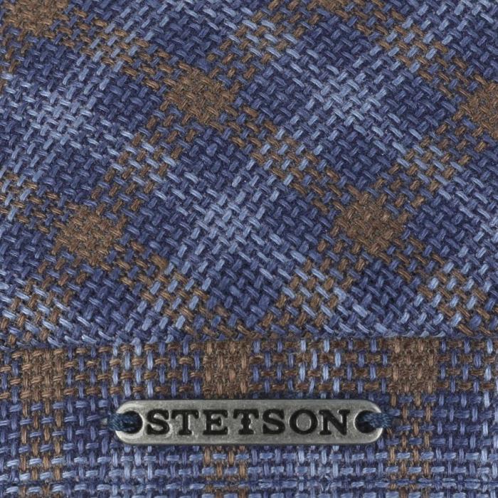 Sapca in barbati STETSON Ricoma 6-Panel carouri albastre [3]