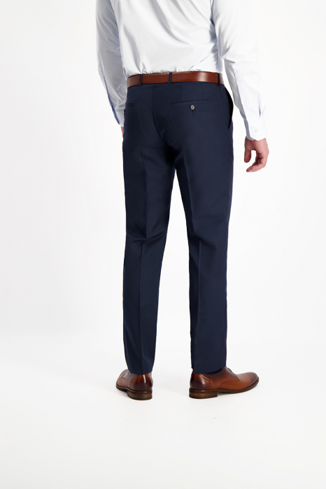 Pantaloni chinos barbati LAVARD bleumarin [6]