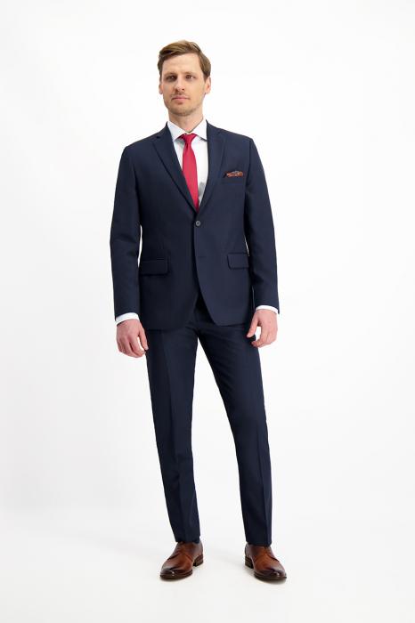 Pantaloni chinos barbati LAVARD bleumarin [7]