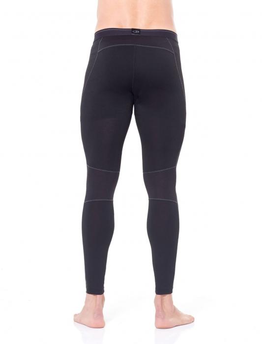 Pantaloni de corp barbati ICEBREAKER 150 Zone negri [2]