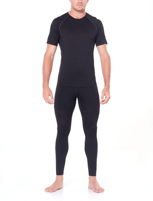 Pantaloni de corp barbati ICEBREAKER 150 Zone negri [3]