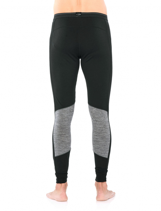 Pantaloni de corp barbati ICEBREAKER 200 Oasis Deluxe negri [1]