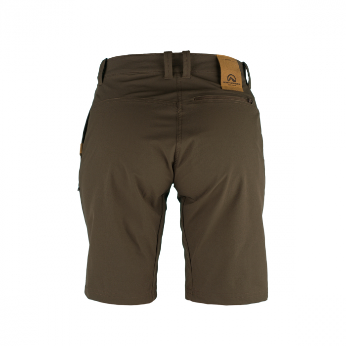Pantaloni scurti outdoor femei NORTHFINDER Tabitan maro [1]