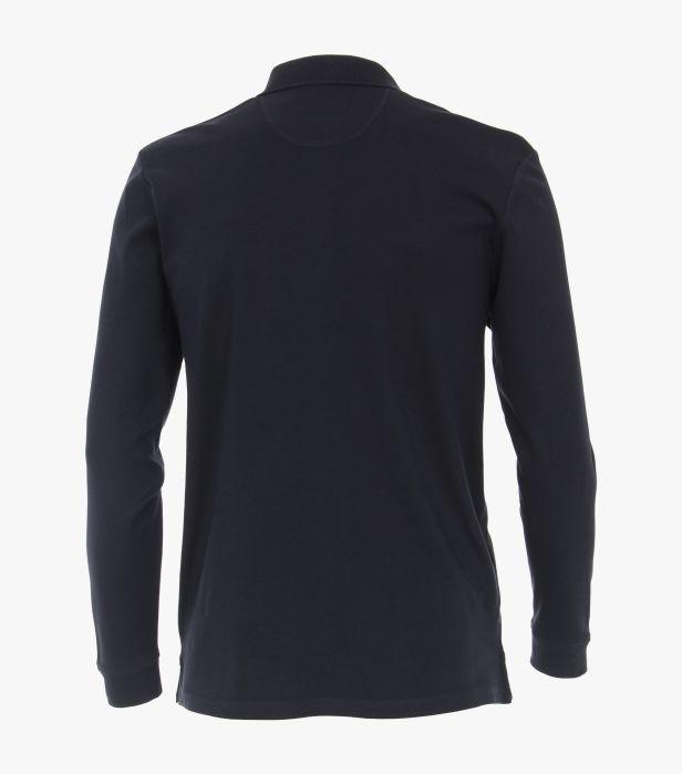 Bluza polo maneca lunga barbati CASA MODA albastra [1]