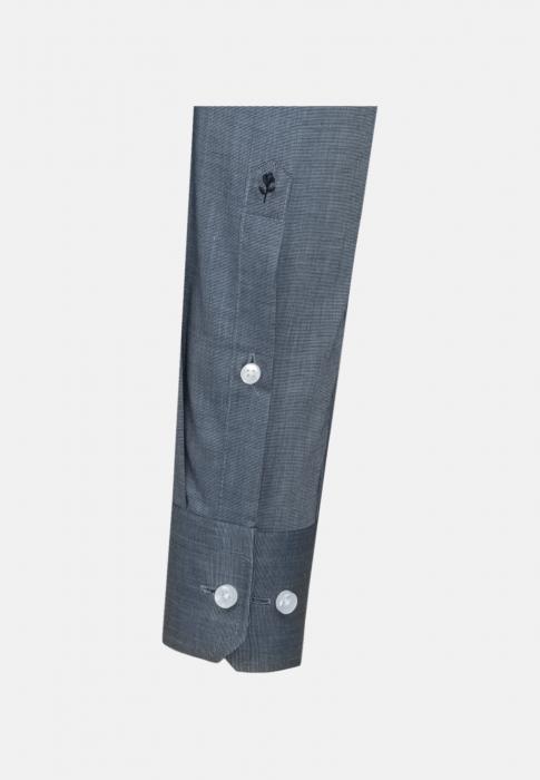 Cămașă business bărbați fil-a-fil Seidensticker Slim Not Iron albastra [4]