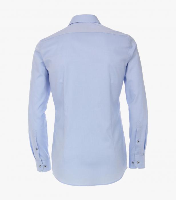 Camasa bumbac barbati VENTI Body Fit albastra [1]