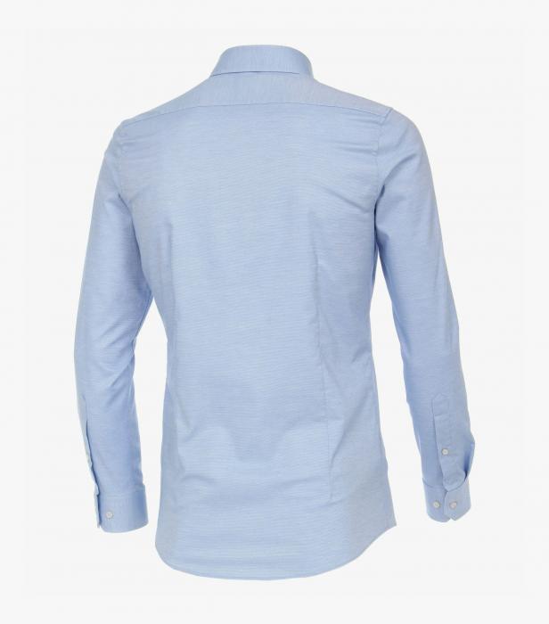 Camasa barbati VENTI BodyFit uni albastra [1]