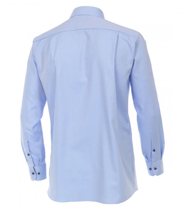 Camasa maneca lunga barbati CASA MODA print Comfort Fit albastra [1]