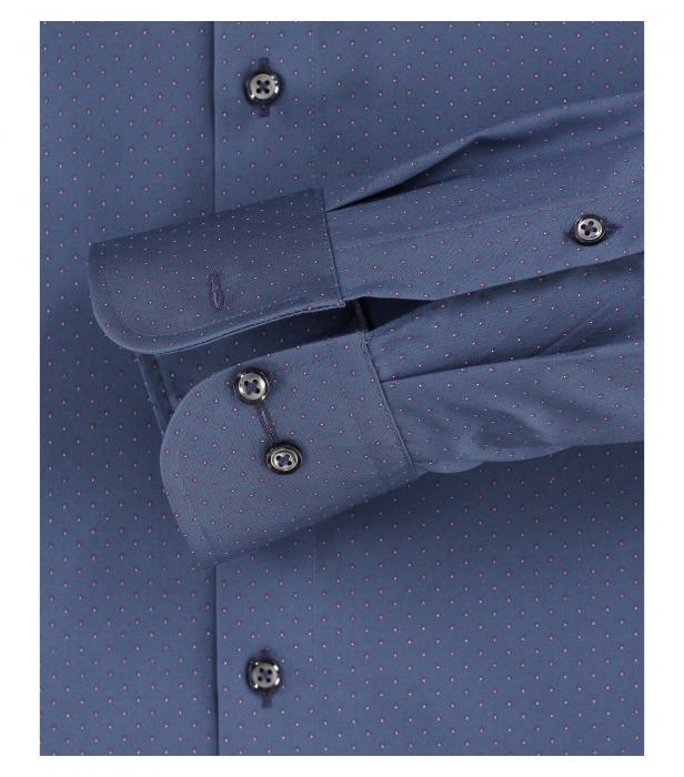 Camasa maneca lunga barbati CASA MODA uni Comfort Fit albastra [3]