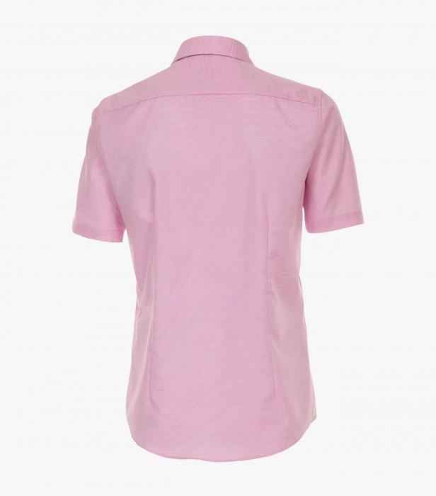Camasa bumbac barbati maneca scurta VENTI Modern Fit roz [1]