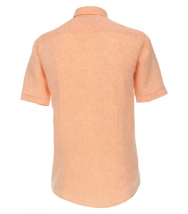 Camasa in maneca scurta barbati CASA MODA CasualFit uni portocalie [1]