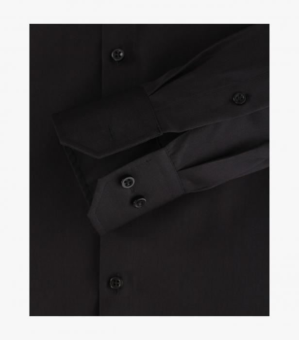 Camasa bumbac NON IRON barbati VENTI Modern Fit neagra [4]