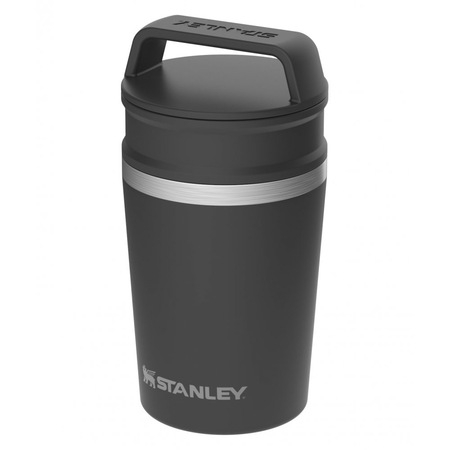 Cana termos calatorie 0.23L STANLEY The Shortstack Travel Mug neagra [2]