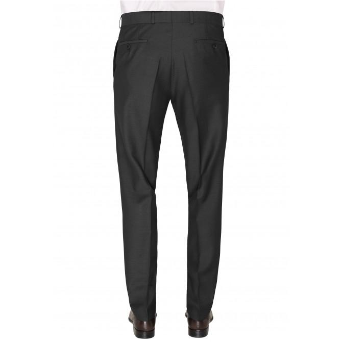 Pantaloni mix&match CARL GROSS BLACK LINE Steve pentru costum Modern Fit gri [1]