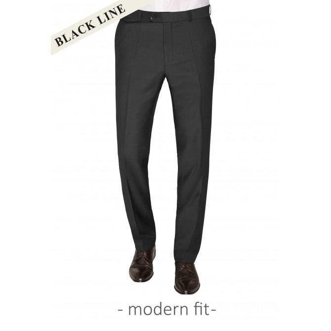 Pantaloni mix&match CARL GROSS BLACK LINE Steve pentru costum Modern Fit gri [0]