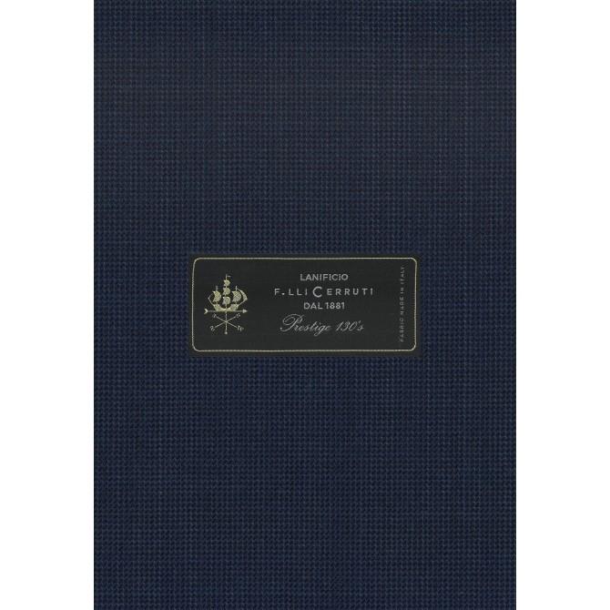 Pantaloni mix&match CARL GROSS BLACK LINE Flann pentru costum Sharp Fit albastru [4]