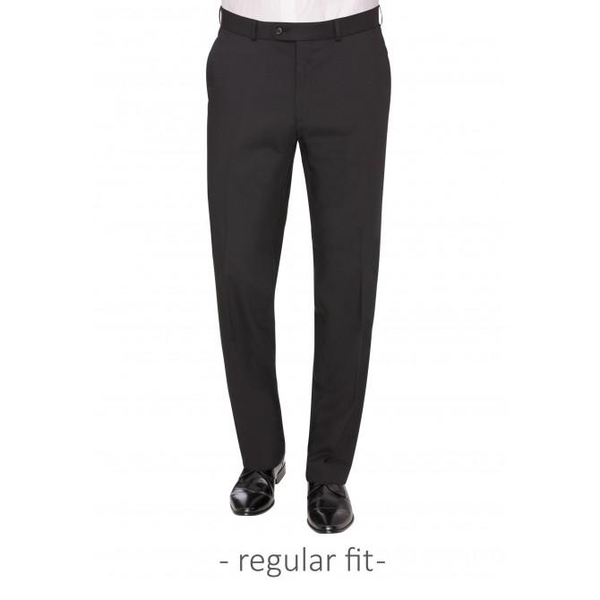 Pantaloni mix&match CARL GROSS Toni pentru costum Travel Regular Fit negru [0]
