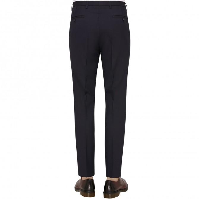 Pantaloni mix&match CLUB of GENTS Cedric pentru costum Slim Fit bleumarin [1]
