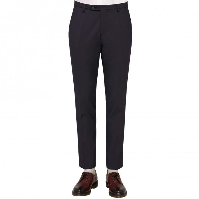 Pantaloni mix&match CLUB of GENTS Cedric pentru costum Slim Fit bleumarin [0]