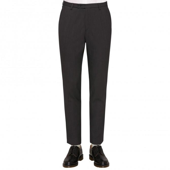 Pantaloni mix&match CLUB of GENTS Cedric pentru costum Slim Fit gri [0]