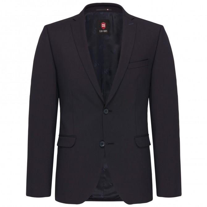 Sacou mix&match CLUB of GENTS Caden pentru costum Slim Fit bleumarin [0]