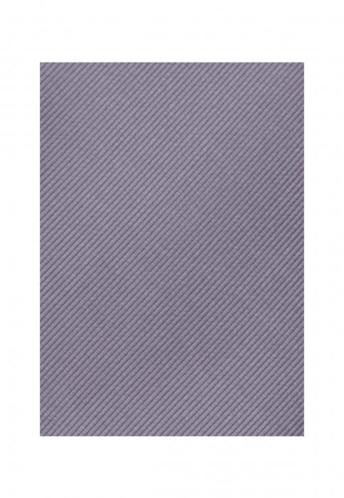 Cravata matase SEIDENSTICKER uni argintie [4]