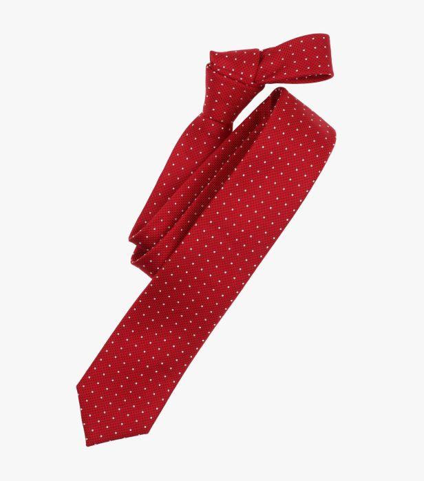 Cravata VENTI rosie cu puncte albe [0]