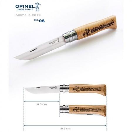 Cutit pliabil OPINEL Animalia NR.8 model 'CERB' [1]