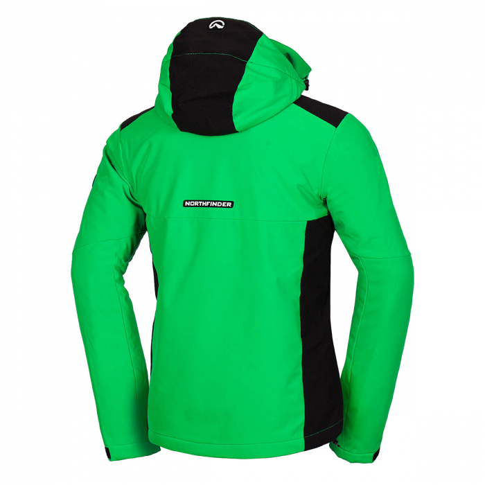 Geaca barbati ski Softshell 3L NORTHFINDER Drewin verde [1]