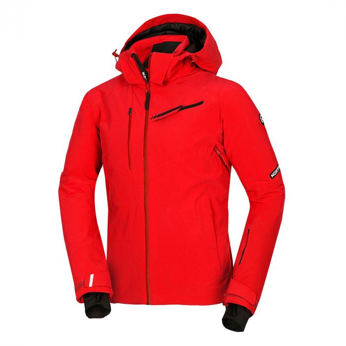 Geacă ski stretch bărbați NORTHFINDER Qenthyn rosie [0]