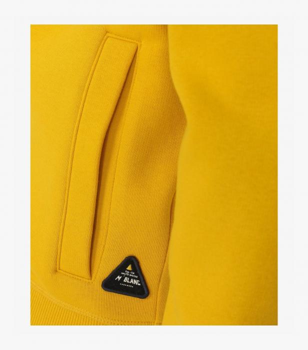 Hanorac cu fermoar barbati CASA MODA Mont Blanc galben [3]