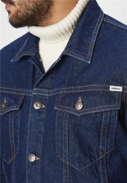 Jacheta blugi barbati Western Jacket PADDOCK'S bleumarin [0]